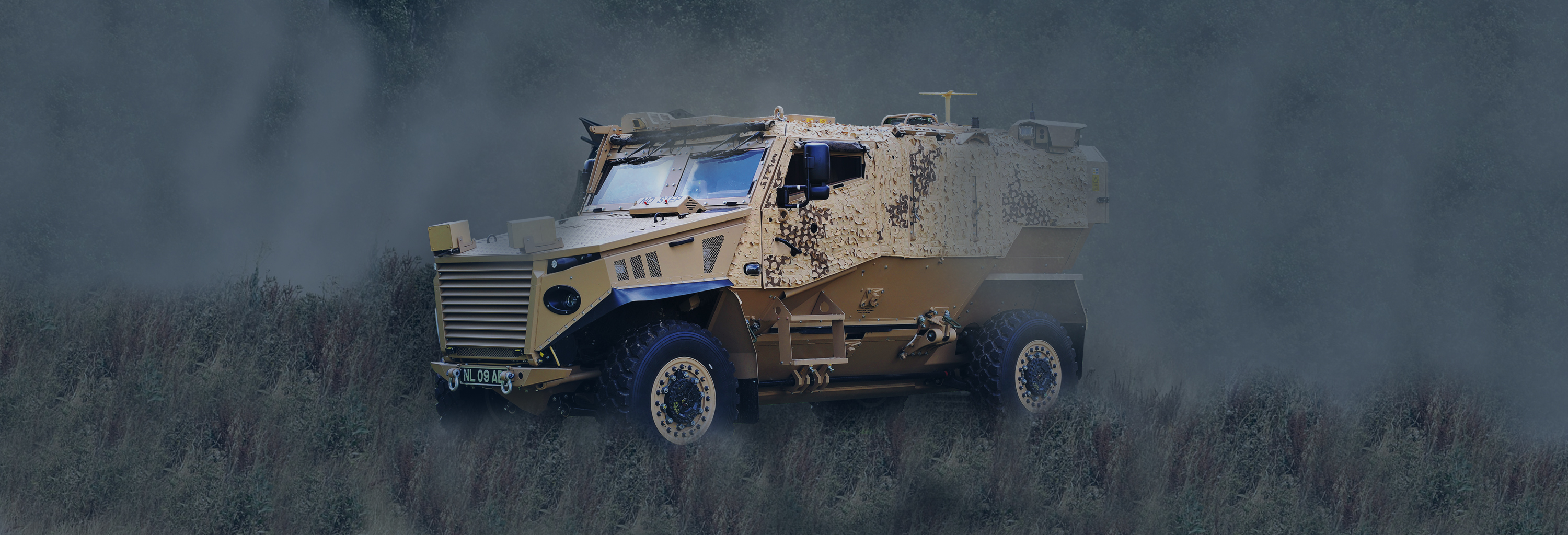 Foxhound military vehicle