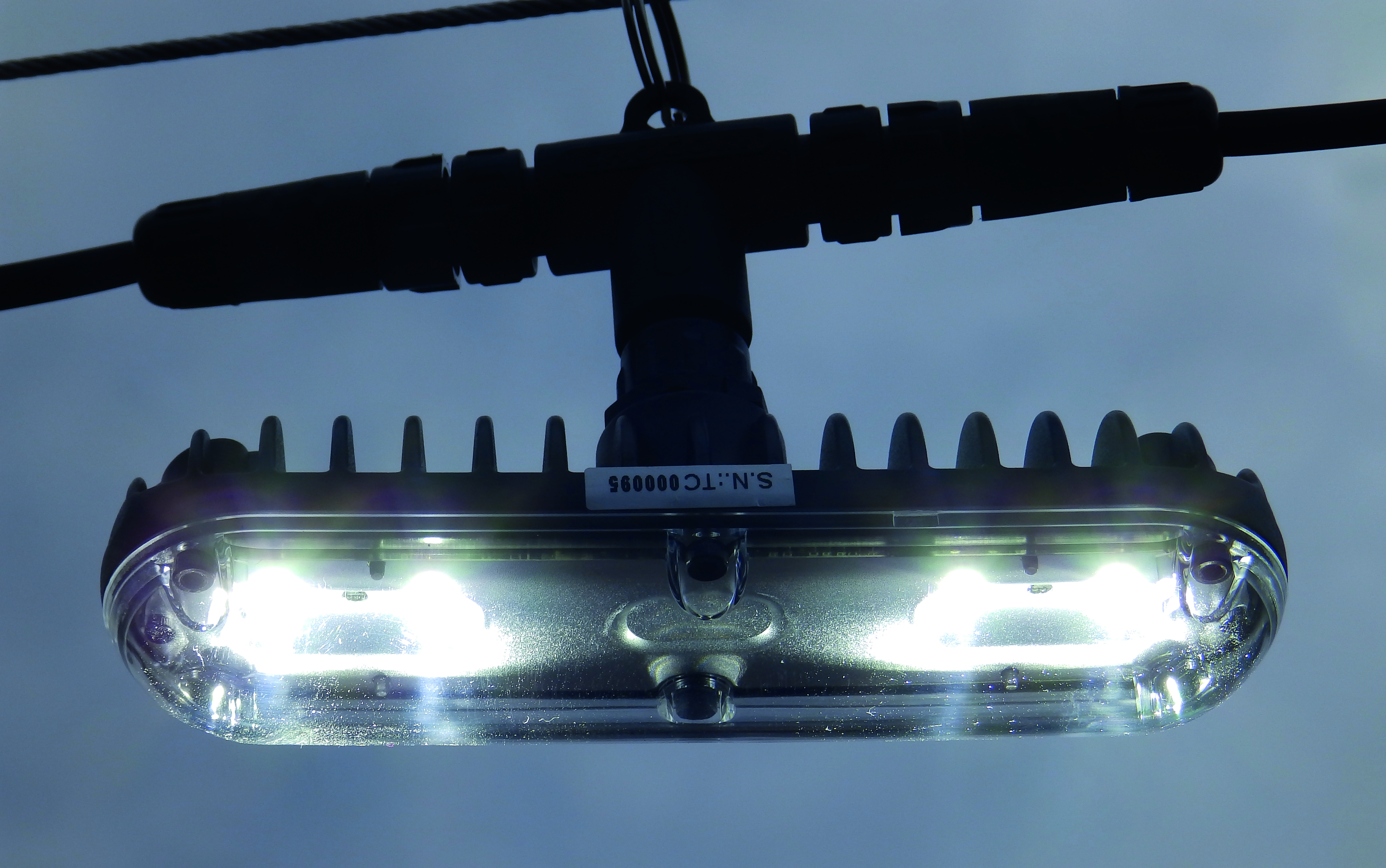 Rapid Deployment LED Lighting -TACT4 Festoon Lighting System