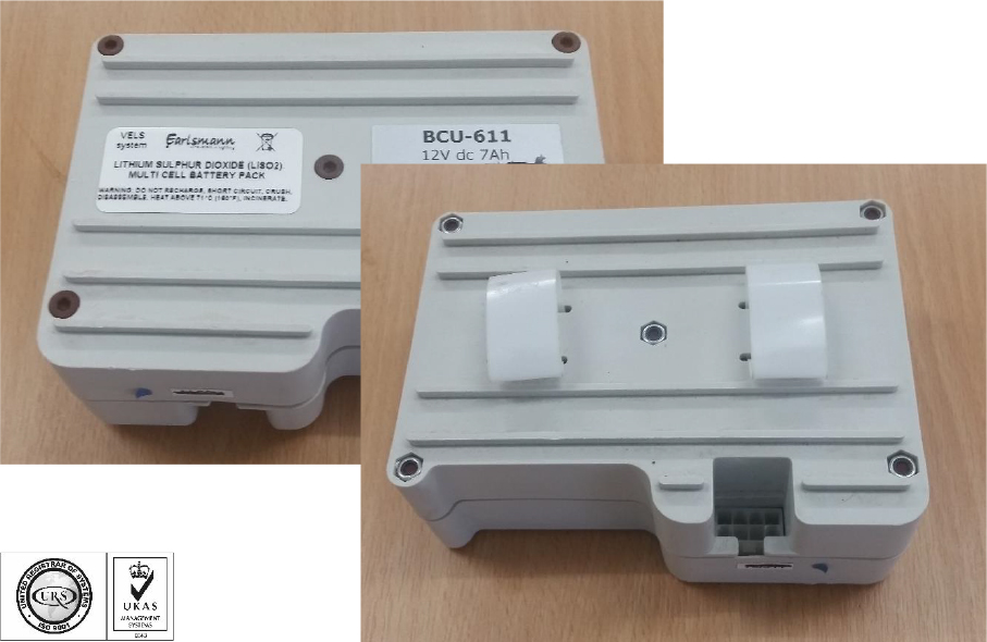 BCU-611 Battery