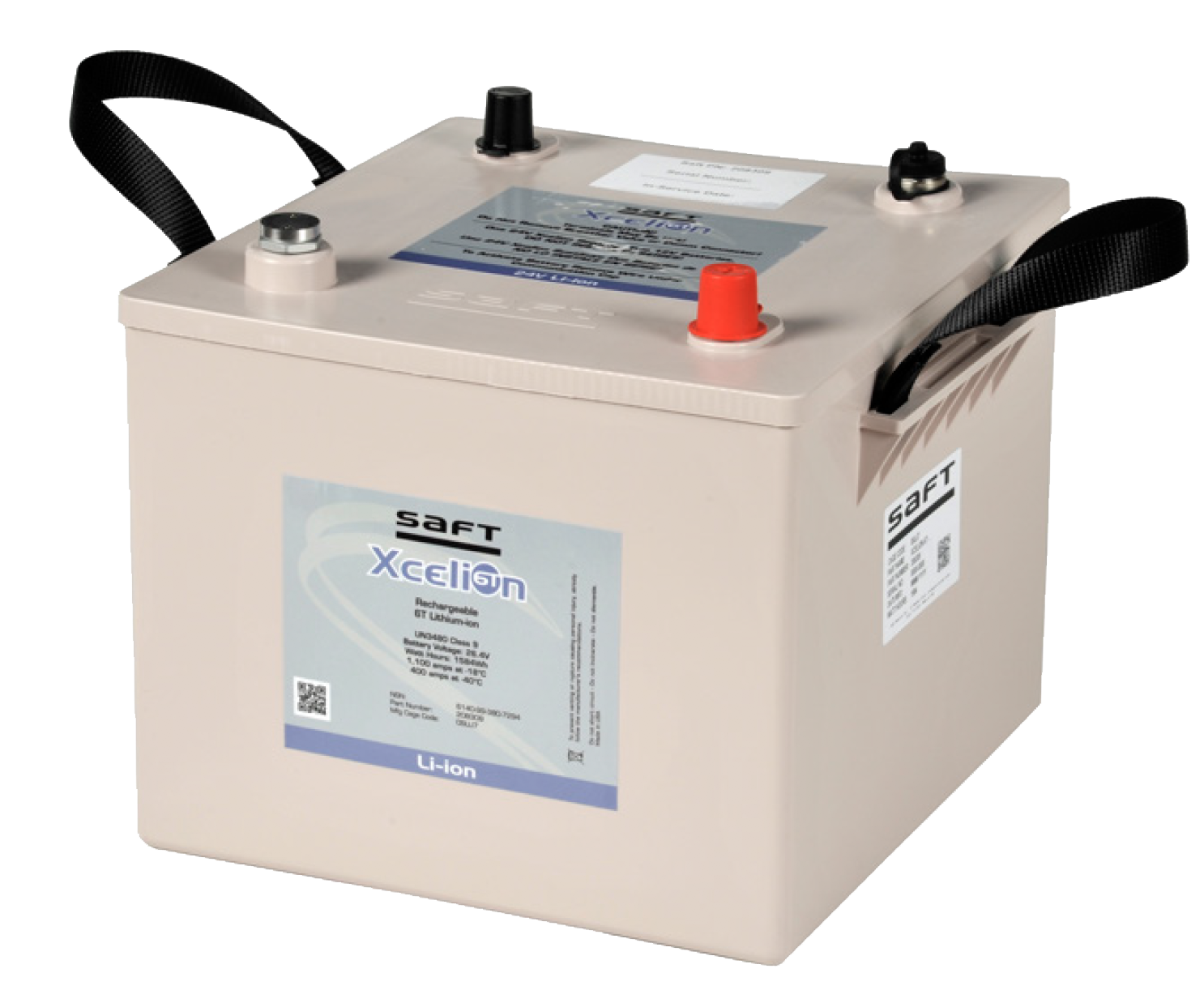 Saft Xcelion 6T military vehicle battery